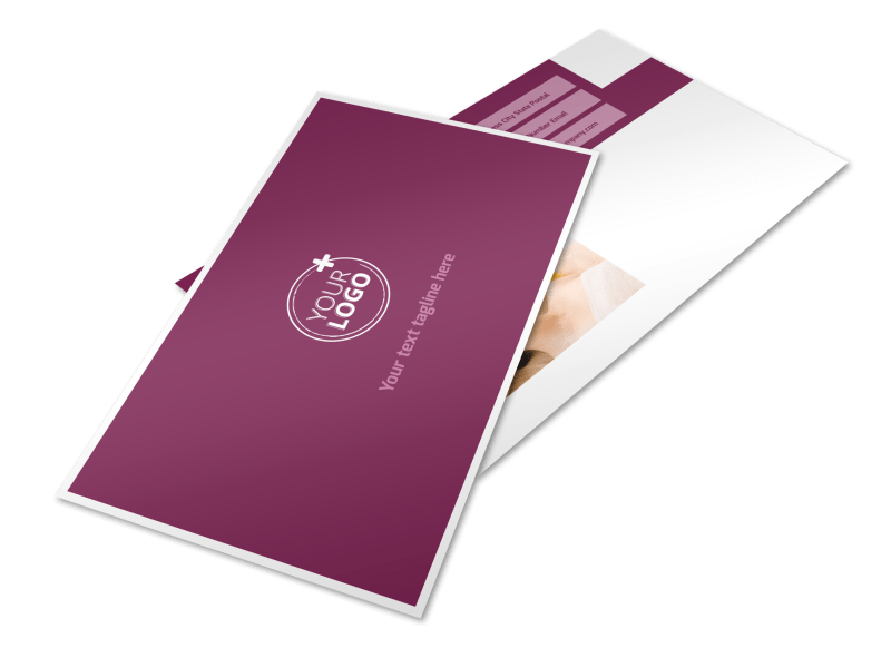Spa Resort Postcard Template Preview 1
