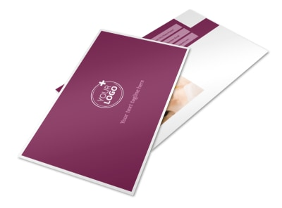 Spa Resort Postcard Template