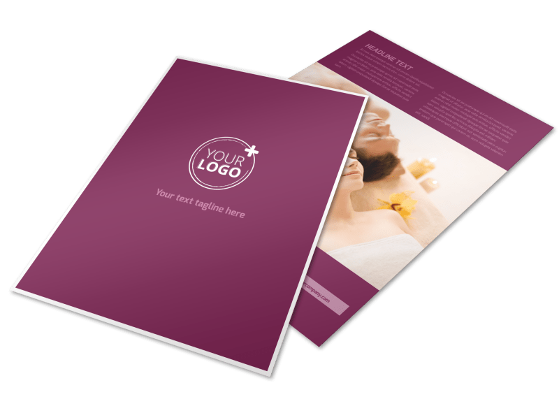 Spa Resort Flyer Template Preview 1