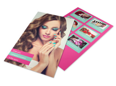 Pedi & Mani Flyer Template 3