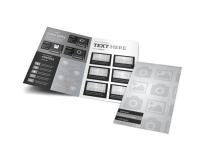 Generic Bi-Fold Brochure Template 3241