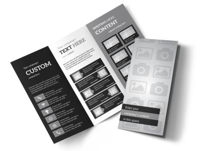 Generic Tri-Fold Brochure Template 3243
