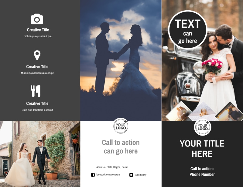 Wedding Photography Package Brochure Template Preview 2