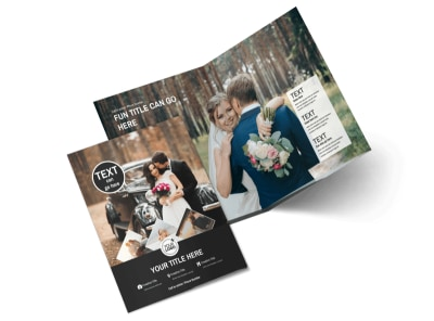 Wedding Photography Package Bi-Fold Brochure Template 2