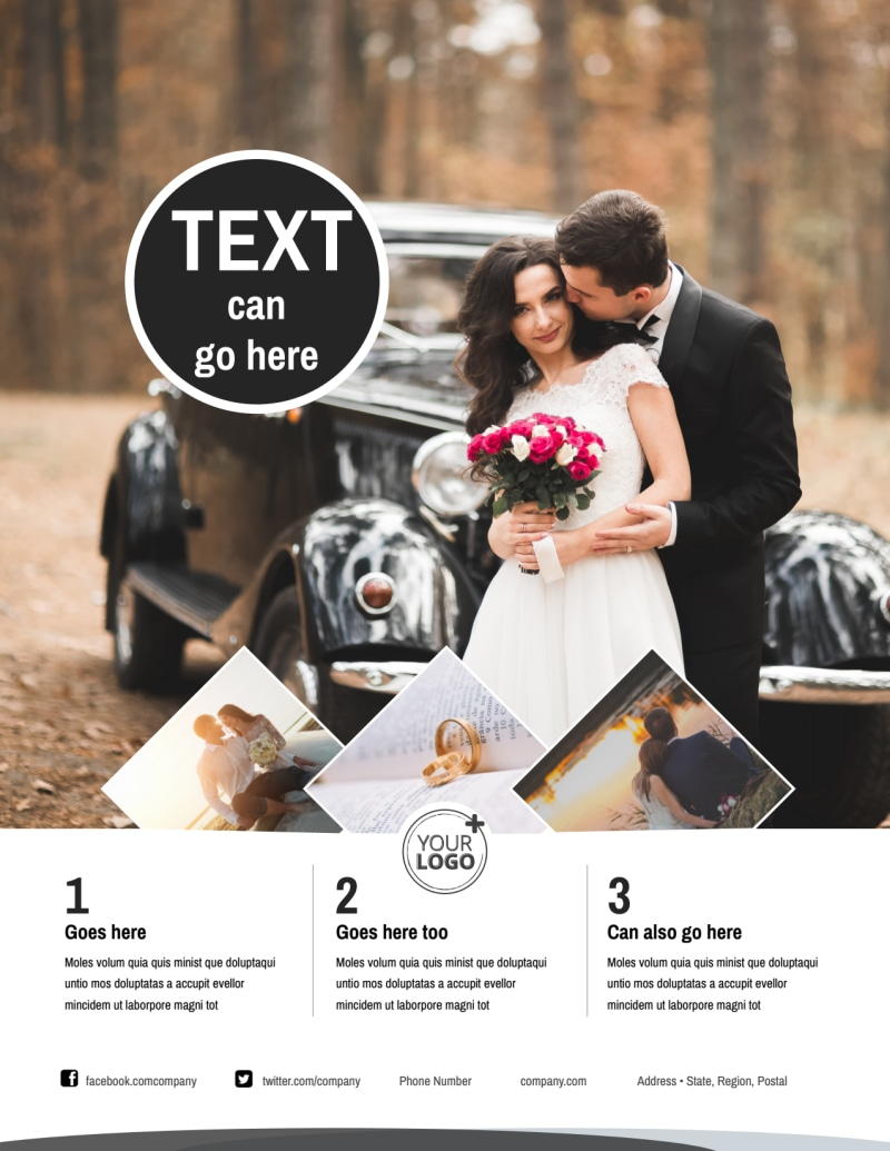 Wedding Photography Package Flyer Template Preview 2