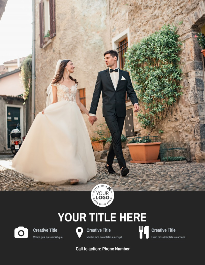Wedding Photography Package Flyer Template Preview 3
