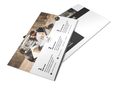 Wedding Photography Package Postcard Template preview