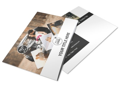 Wedding Photography Package Postcard Template 2