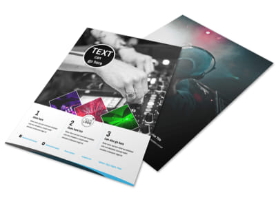 DJ Event Package Flyer Template
