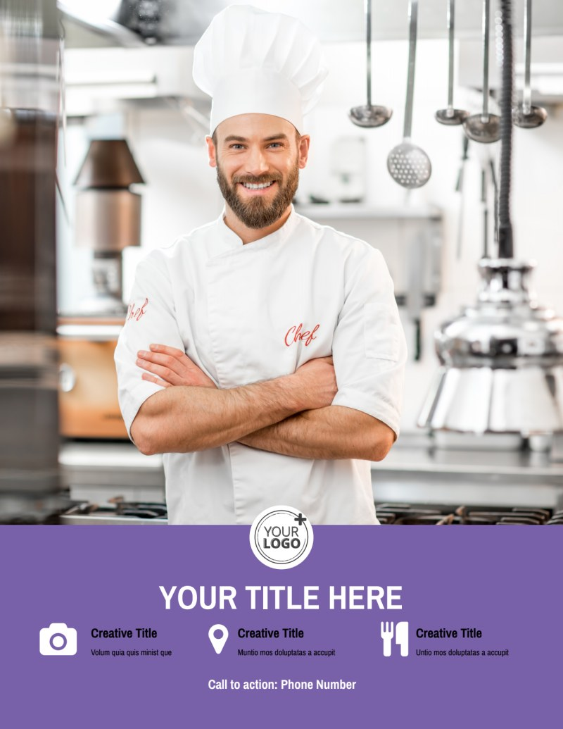 Catering Package Flyer Template Preview 3