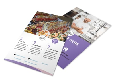Catering Package Flyer Template 3