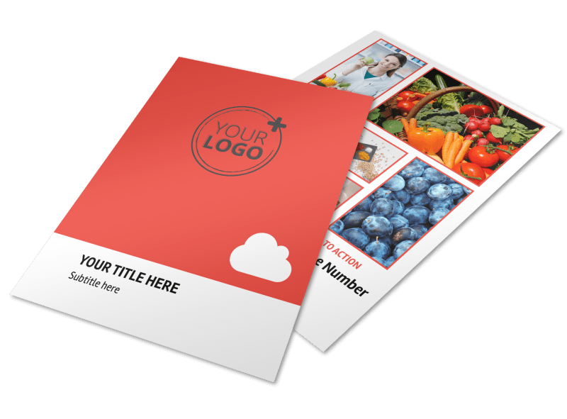 Nutrition Options Flyer Template Preview 1