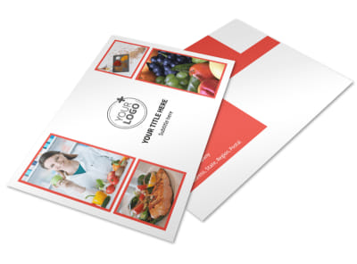 Nutrition Options Postcard Template 2