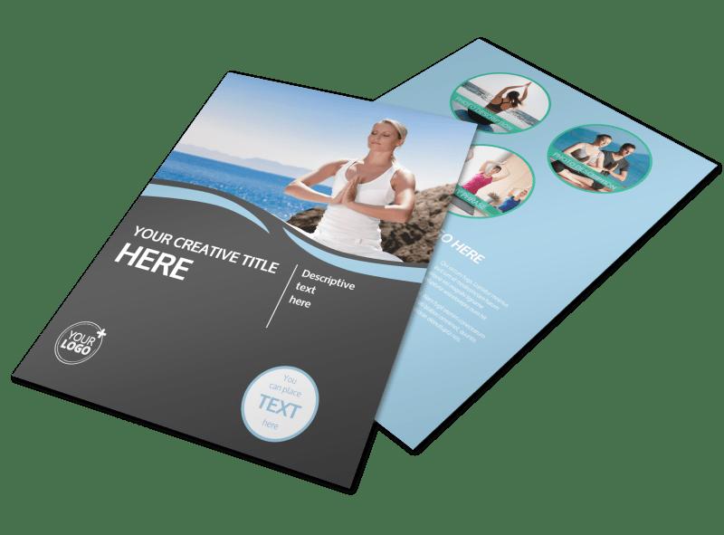 Spiritual Yoga Class Flyer Template Preview 1