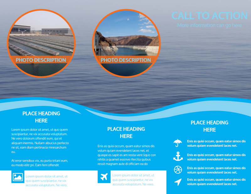 Hydropower Brochure Template Preview 3
