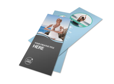Spiritual Yoga Class Flyer Template 2 preview