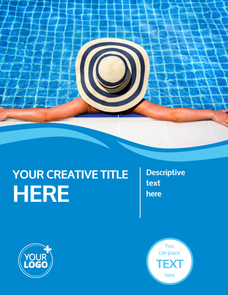 Pool Cleaning Flyer Template Preview 2