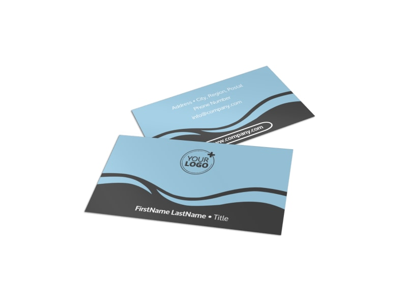 Spiritual Yoga Class Business Card Template