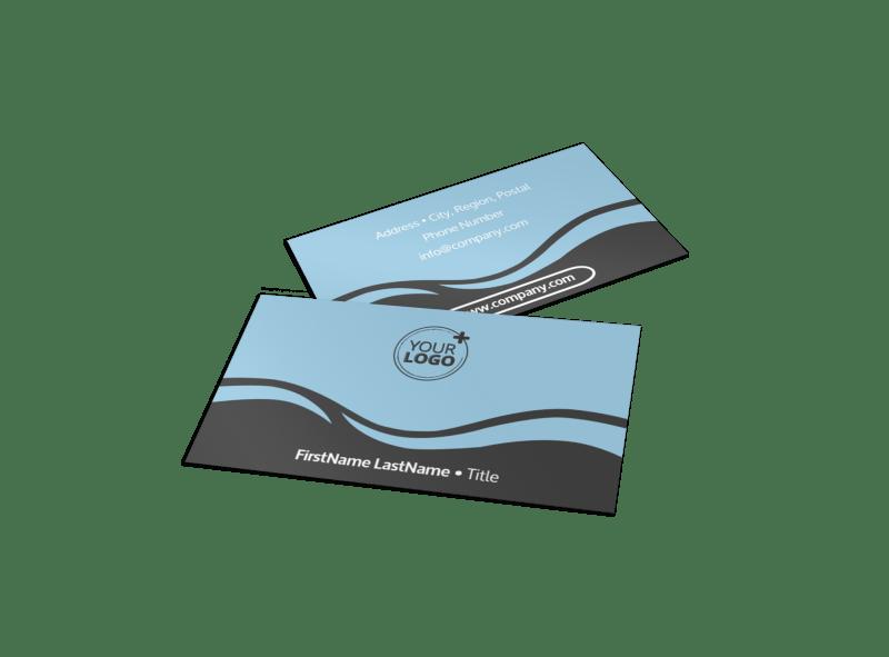 Spiritual Yoga Class Business Card Template Preview 1