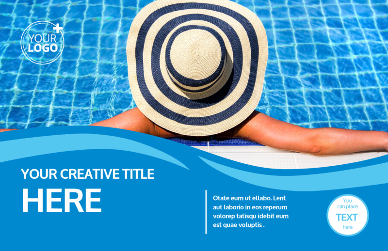 Pool Cleaning Postcard Template Preview 2