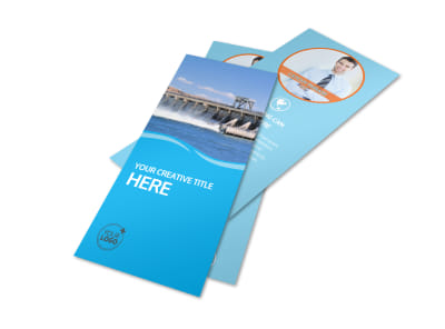 Hydropower Flyer Template 2 preview