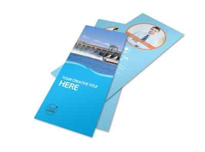 Hydropower Flyer Template 2