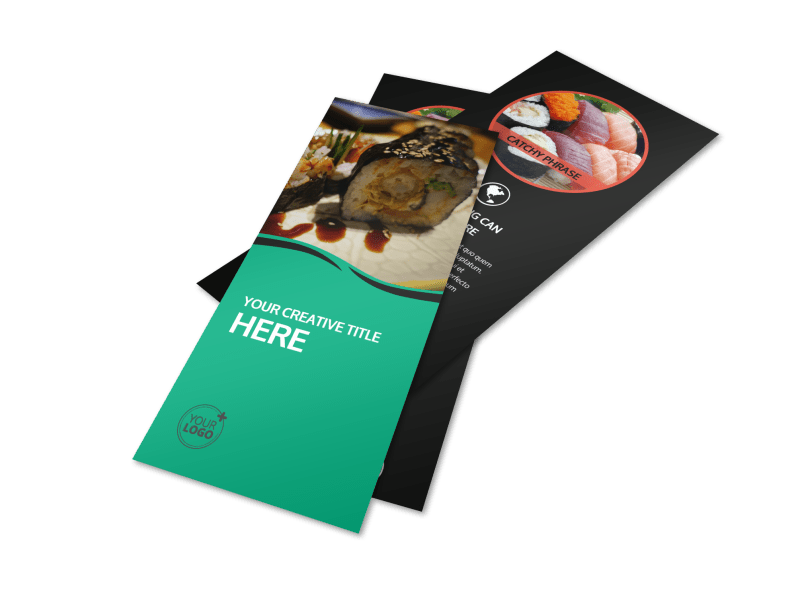 Fresh Sushi Flyer Template Preview 1