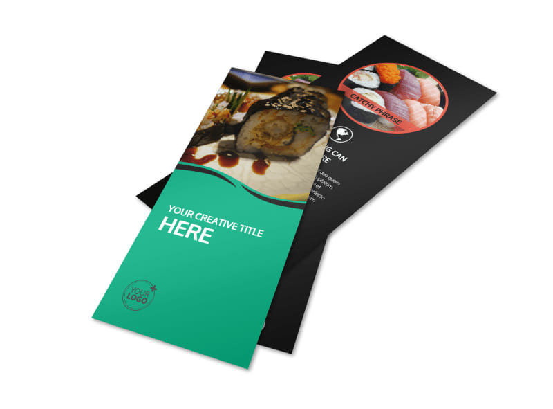 Fresh Sushi Flyer Template 2