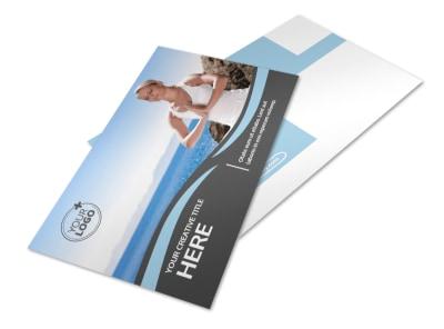 Spiritual Yoga Class Postcard Template 2