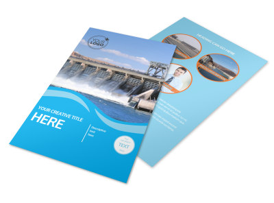 Hydropower Flyer Template 3
