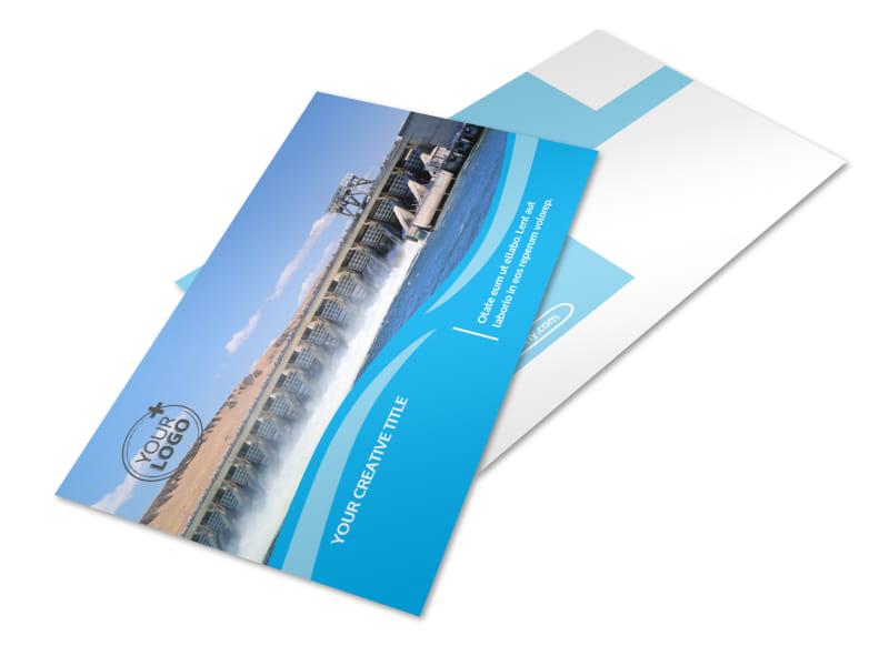 Hydropower Postcard Template 2