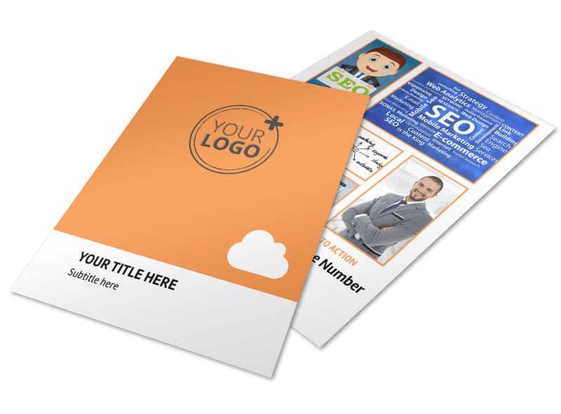 Web Design Seo Flyer Template Mycreativeshop