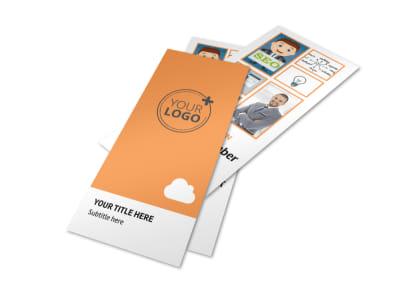 Web Design & SEO Flyer Template 2