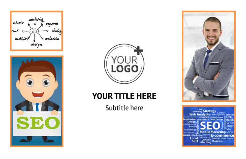 Web Design & SEO Postcard Template Preview 2