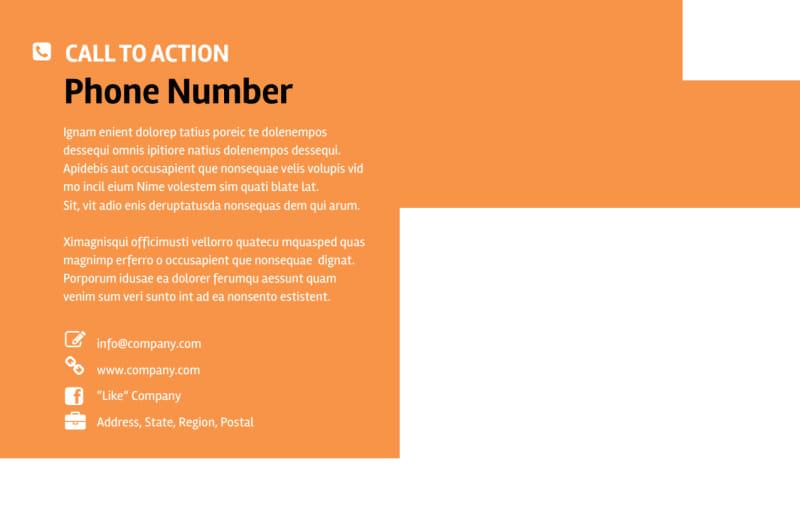 Web Design & SEO Postcard Template Preview 3