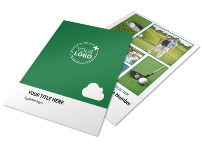 Golf Membership Flyer Template