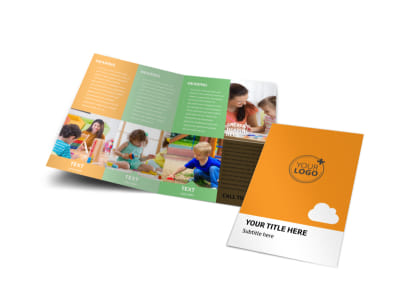 Daycare Options Bi-Fold Brochure Template preview