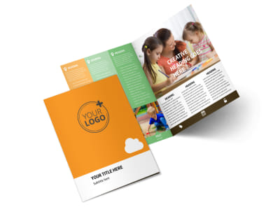 Daycare Options Bi-Fold Brochure Template 2