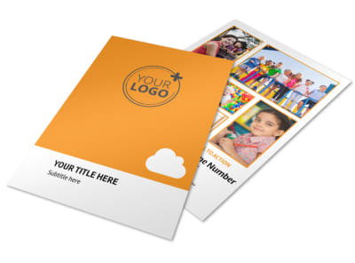 Daycare Options Flyer Template preview