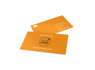Daycare Options Business Card Template
