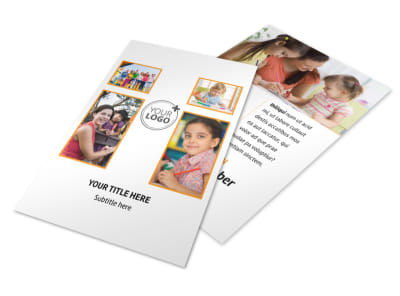 Daycare Options Flyer Template 3 preview