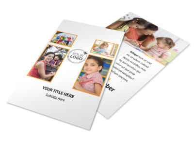 Daycare Options Flyer Template 3