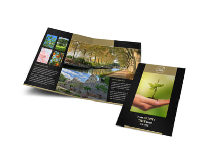 Tree Service Bi-Fold Brochure Template preview