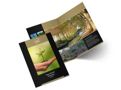 Tree Service Bi-Fold Brochure Template 2 preview