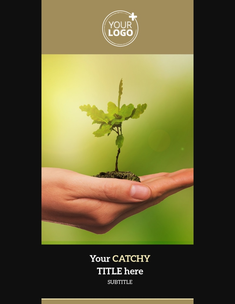 Tree Transplanting Service Flyer Template Preview 2