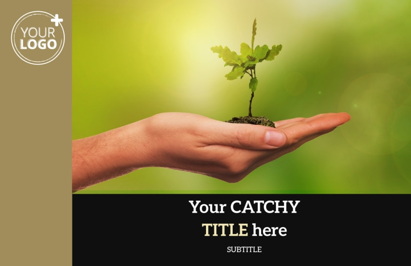 Tree Transplanting Service Postcard Template Preview 2