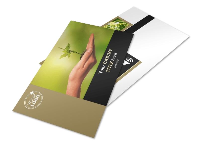 Tree Service Postcard Template 2