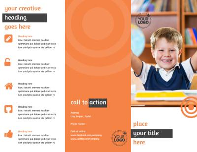 Academic Tutor Brochure Template Preview 1