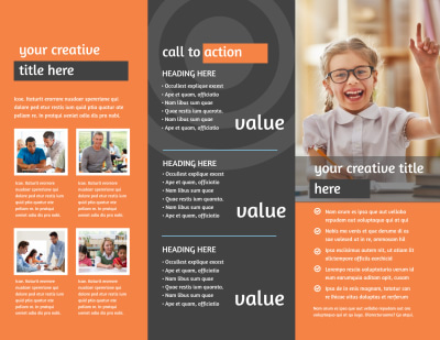 Academic Tutor Brochure Template Preview 2