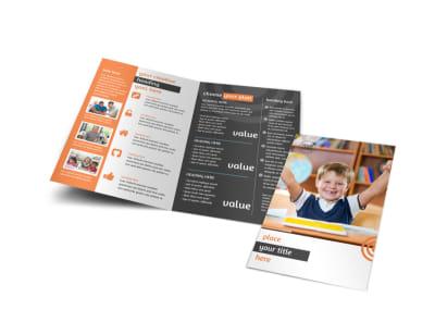 Academic Tutor & School Brochure Template preview